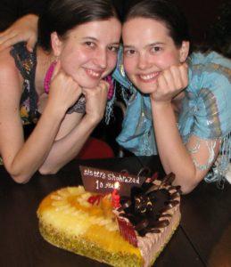 19.2010.11.14 Sisters Shahrazad BIRTHDAY
