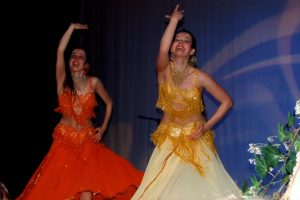 2007 orange and yellow costume for sale